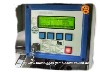 Messung Flüssiggasvolumen